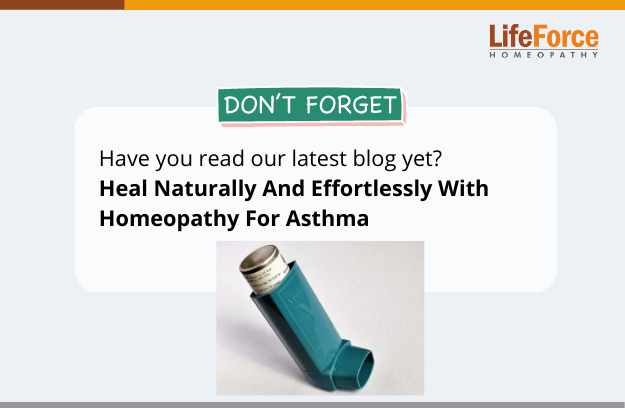 Heal Naturally And Effortlessly With Homeopathy For Asthma