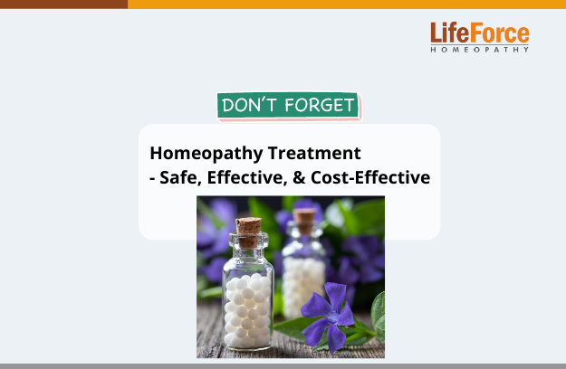 Homeopathy Treatment – Safe, Effective, & Cost-Effective