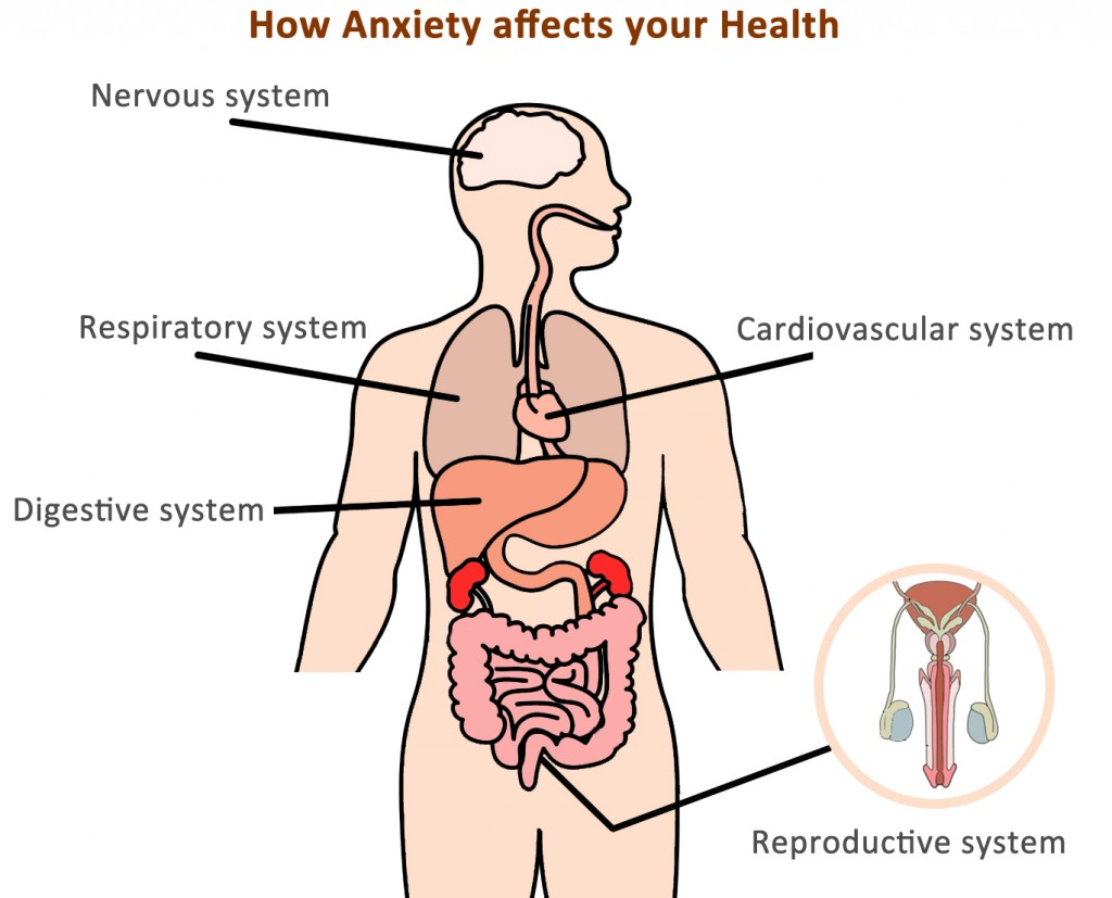 How Anxiety can affect your health and body
