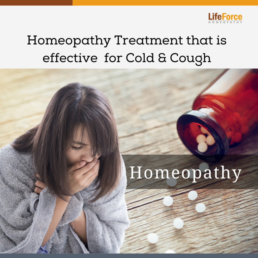 Natural & Gentle Homeopathic Treatment that is effective for Cold & Cough
