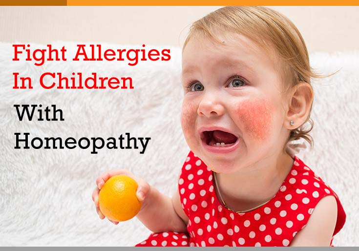Fight Allergies In Children With Homeopathy