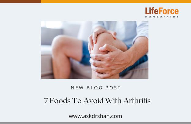 7 Foods To Avoid With Arthritis