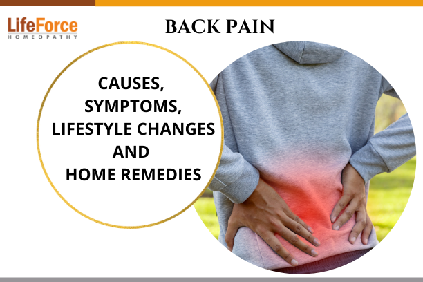 Back Pain – Causes, Symptoms, Lifestyle Changes And Home Remedies