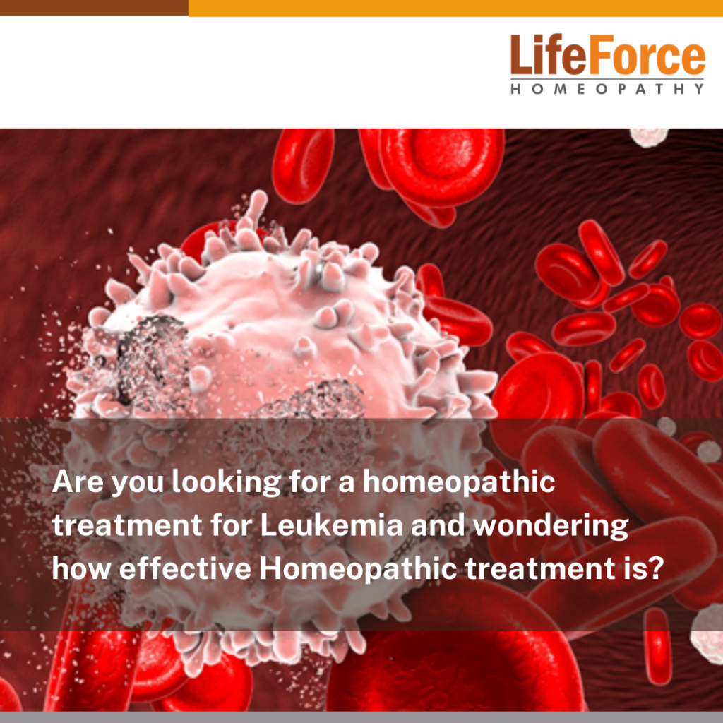 Learn All About Homeopathy For Leukemia