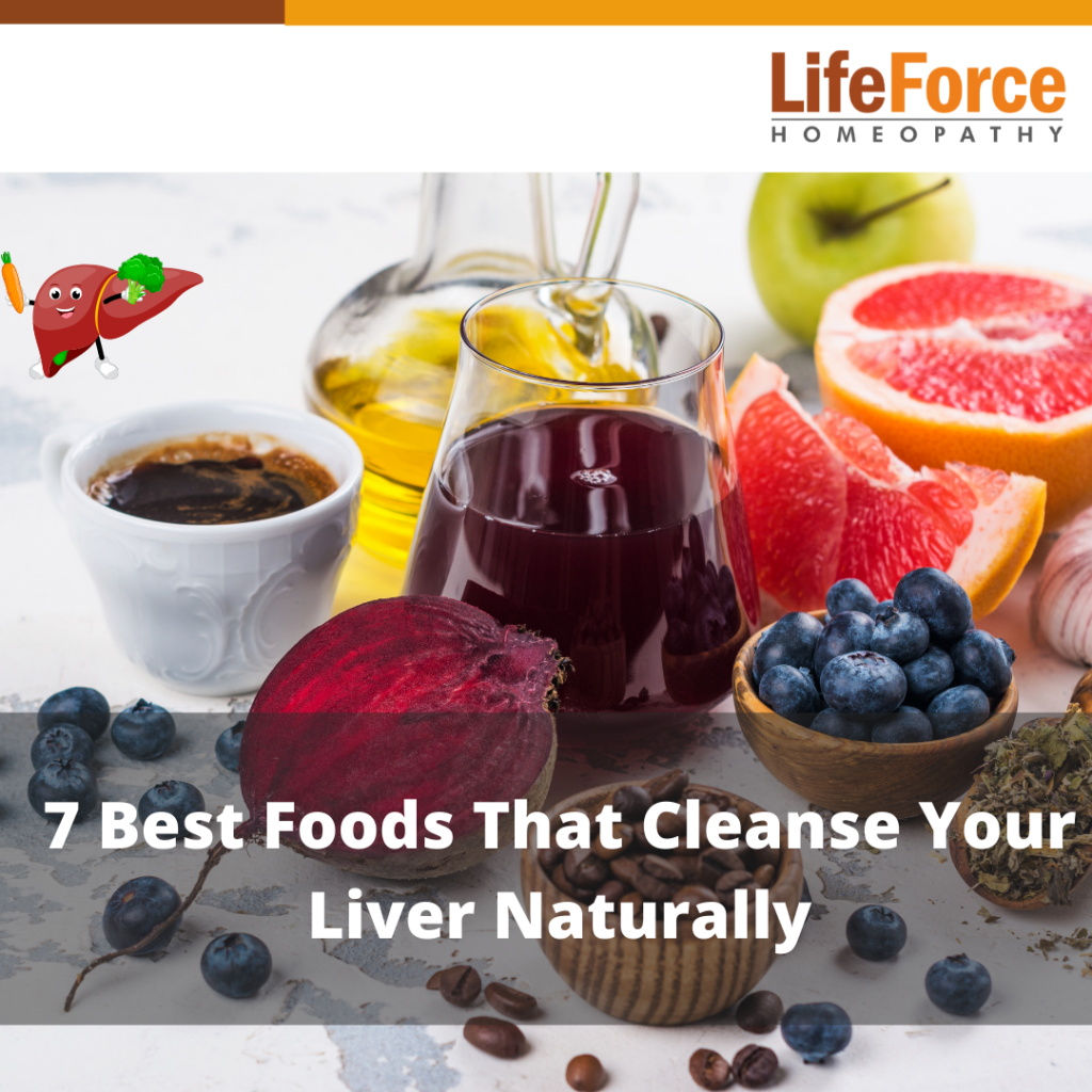 7 Best Foods That Cleanse Your Liver Naturally