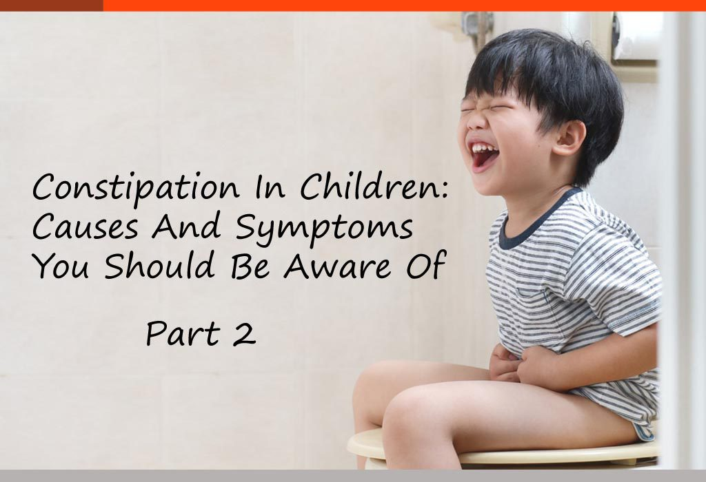 How To Manage Constipation In Children