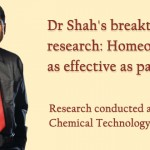 Dr Shah's breakthrough research: Homeopathy is as effective as pain-killers