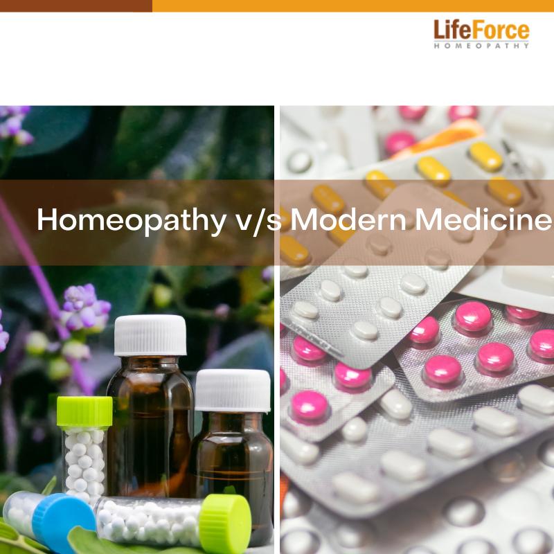 Homeopathy v/s Modern Medicine
