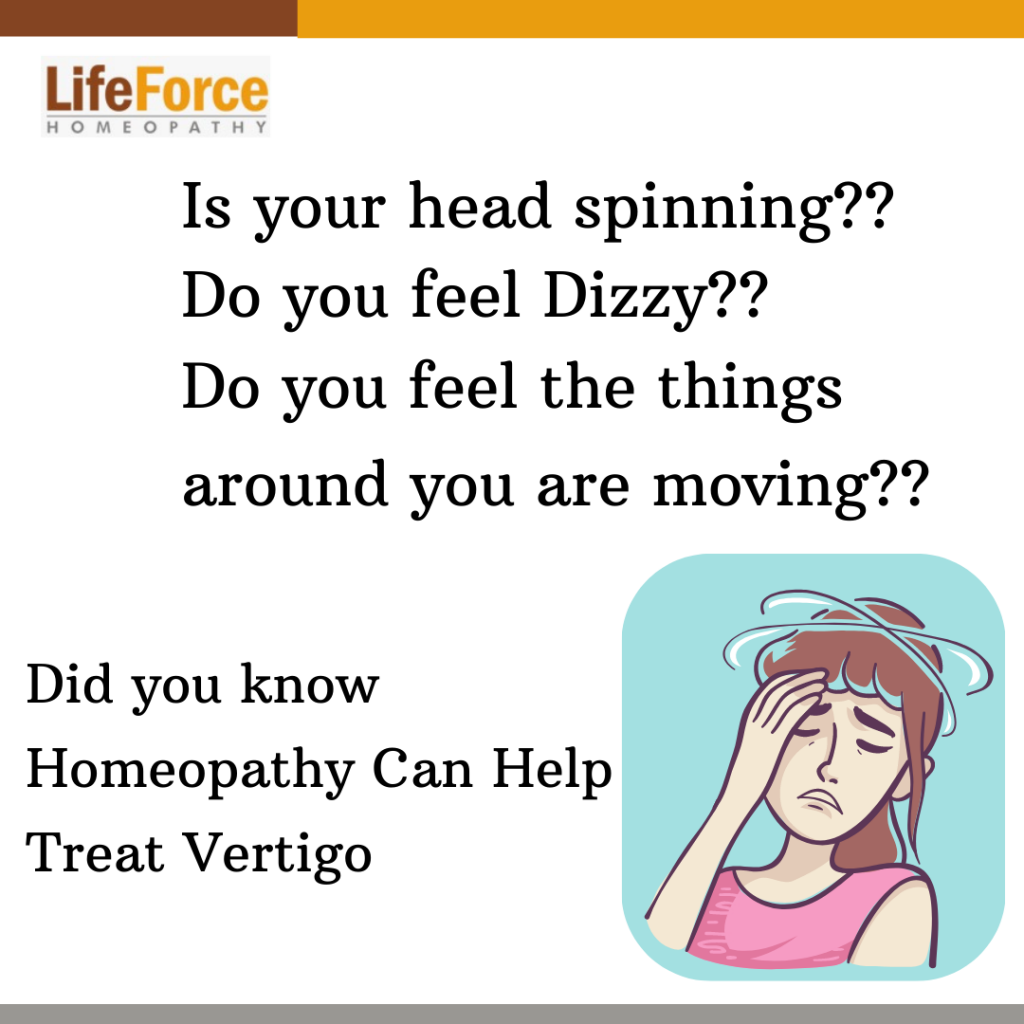 How Homeopathy Can Help Treat Vertigo