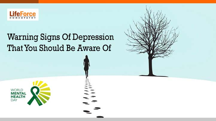 Warning Signs Of Depression That You Should Be Aware Of