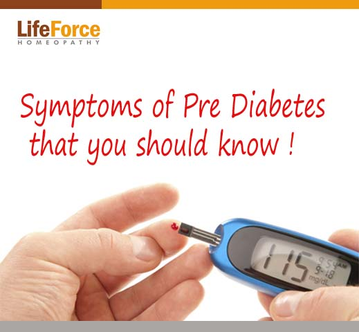 Symptoms of Pre Diabetes that you should know.
