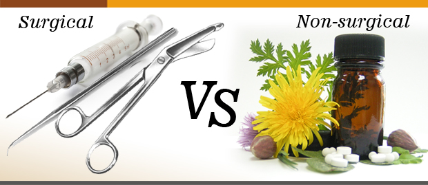 Surgical vs non-surgical (Medical) treatment for hair loss