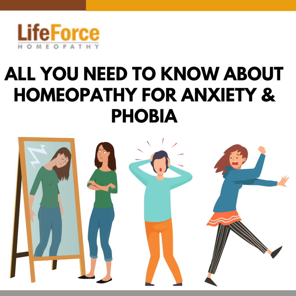 All You Need To Know About Homeopathy For Anxiety and Phobia
