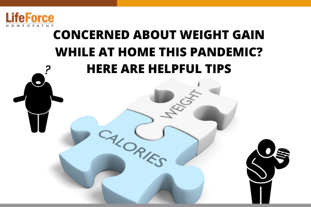 Concerned About Weight Gain While At Home This Pandemic? Here Are Helpful Tips