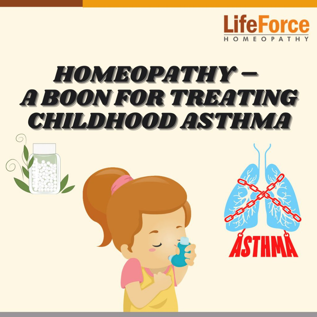Homeopathy – A Boon For Treating Childhood Asthma