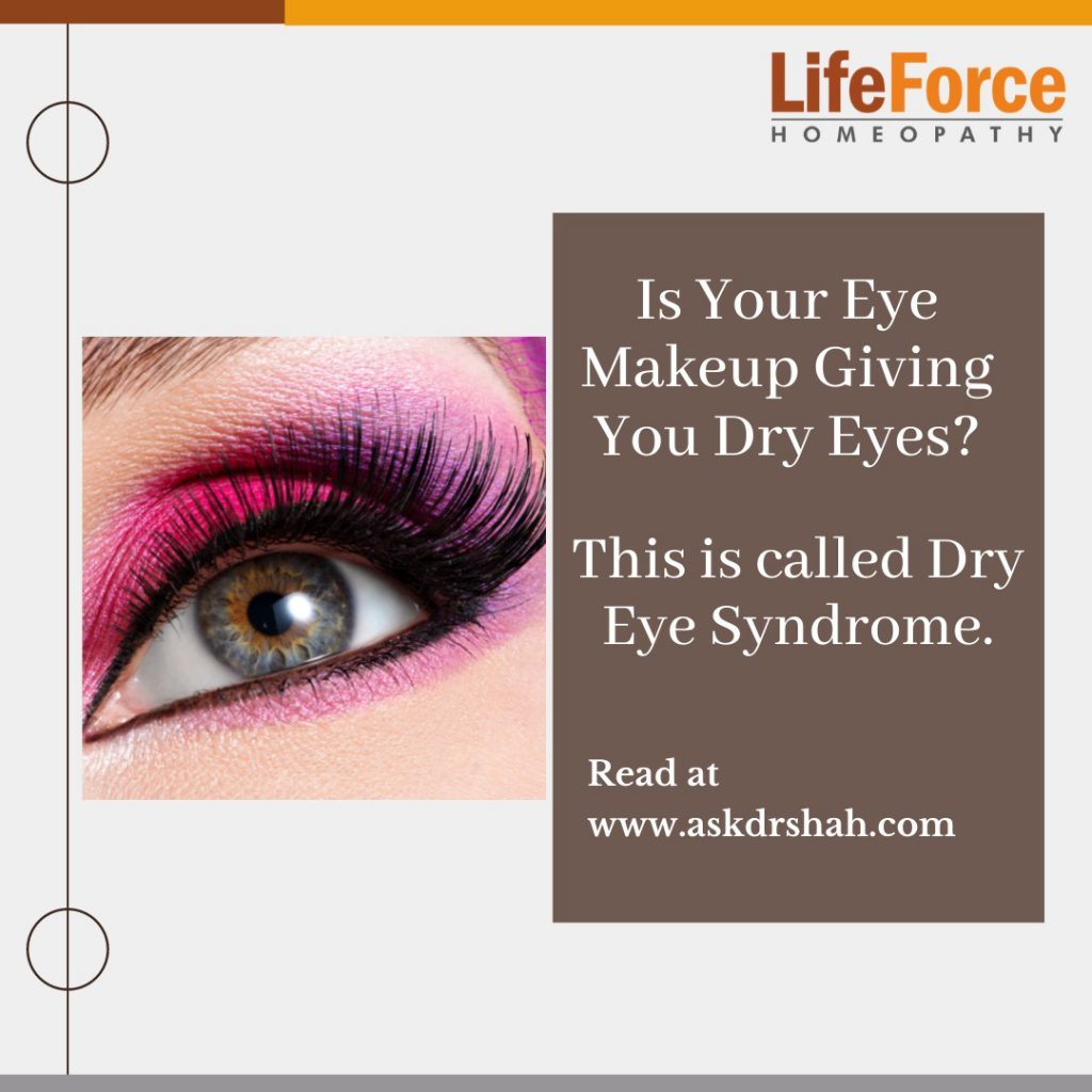 Is Your Eye Makeup Giving You Dry Eyes?