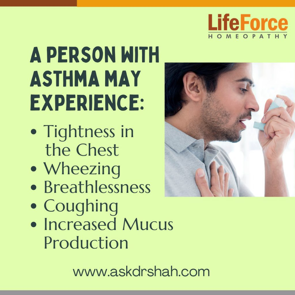 Different types of Asthma and Role of Homeopathic Treatment