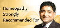 Homeopathy strongly recommended for diseases