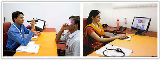 Staff at Vashi branch