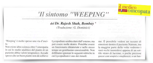 An article  published in a magazine