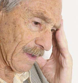 Alzheimer's disease in old people