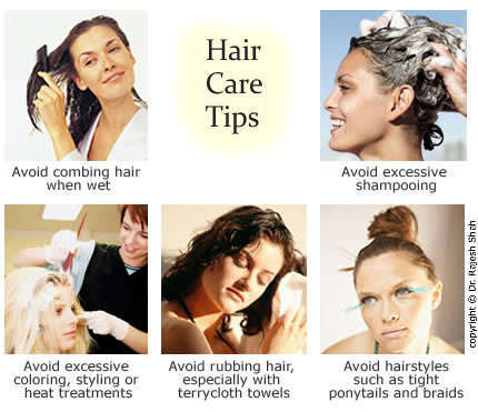 Hair Loss Tips for Avoiding Hair Fall