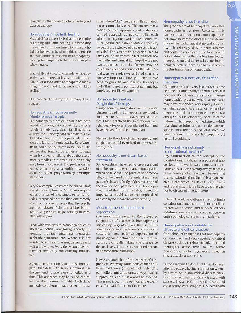 What Homeopathy Is Not, by Dr Rajesh Shah Page-3